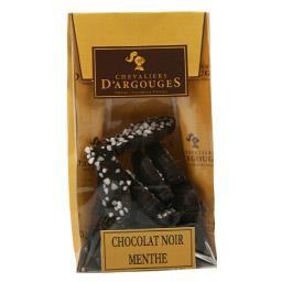 Chevaliers d'Argouges Friture chocolat noir menthe