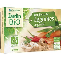 Bouillon cube légumes dégraissé BIO