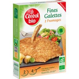 Fines galettes 2 fromages BIO