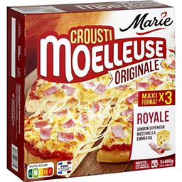 Crousti Moelleuses - Pizza Originale Royale