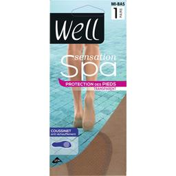Sensation Spa - Mi-bas transparent beige medium TU