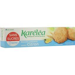 Biscuits craquants saveur citron sans sucres