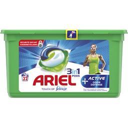 Ariel Active odour defense 3en1 - lessive en capsules