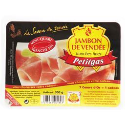 Jambon de Vendée tranches fines