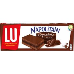 Napolitain - Gâteau Signature chocolat