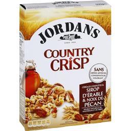 Country Crisp - Céréales complètes & sirop d'érable ...