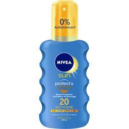 Sun - Crème solaire Protect & Bronze FPS 20