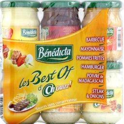Oh Ouizz ! - Assortiment de sauces Les Best Of