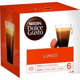 Nescafé Nescafé Dolce Gusto Dolce Gusto - Capsules de café Lungo 100% arabica