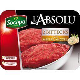 Socopa L'Absolu - Biftecks façon Maître d'Hôtel