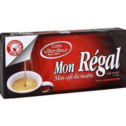 Le Bonifieur Café moulu Mon Régal les 4 paquets de 250 g