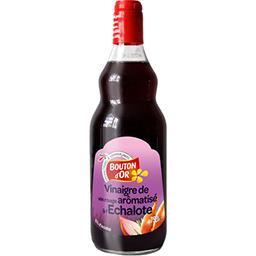 Vinaigre de vin rouge aromatisé à l'échalote