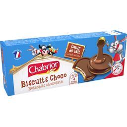Biscuits Choco cœur de lait