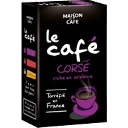 Le cafe corse, arabica