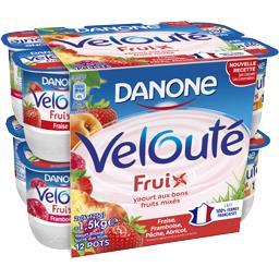 Velouté - Yaourt brassé sucré aux fruits