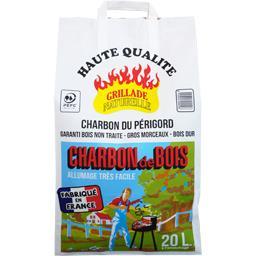 Charbon de bois du Périgord haute qualité spécial barbecue