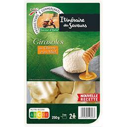 Saveur d'Italie - Pâtes Girasoles au chèvre et au miel