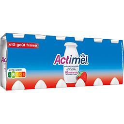 Actimel - Yaourts à boire goût fraise