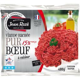 Viande hachée pur bœuf 15% mg