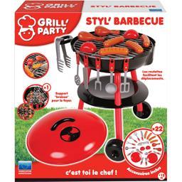 Barbecue sur roulettes
