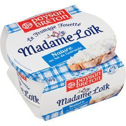 Madame Loïk - Le Fromage Fouetté nature au sel de Guérande