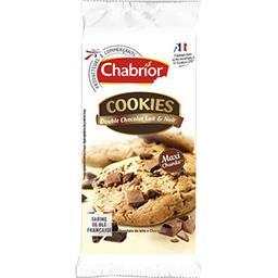 Cookies double chocolat lait & noir