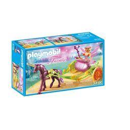 Fairies - Fée avec carrosse et licorne 4-10