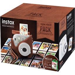Pack découverte Instax Mini 9 blanc