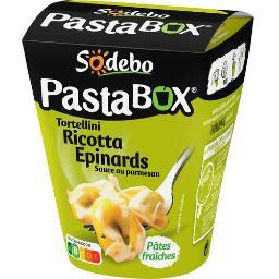 Pasta'box - Tortellini ricotta épinards sauce au par...