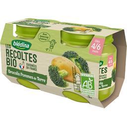 Les Récoltes BIO - Brocolis pommes de terre BIO, 4/6...