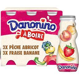 Spécialité laitière à boire Danonino aux fruits