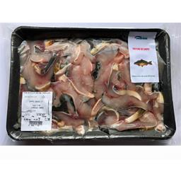 Sundgau poissons Goujonnette de carpe La barquette de 750 gr