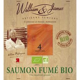 Saumon fumé artisanal d'Irlande BIO