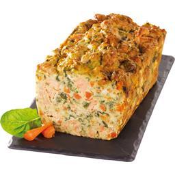 Florentine de saumon aux épinards