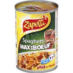 Spaghetti Max de Bœuf