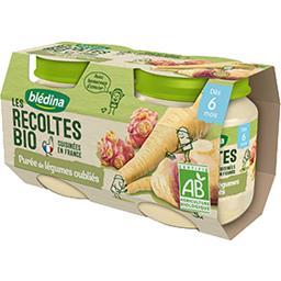 Les Récoltes BIO - Purée de légumes oubliés BIO, dès 6 mois