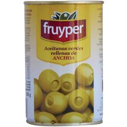 Olives farcies à la pâte d'anchois