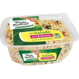 Ma salade de Quinoa aux légumes