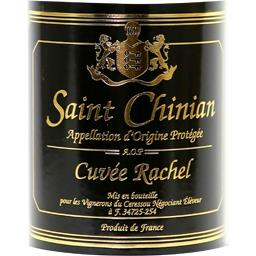 Saint chinian, vin rouge