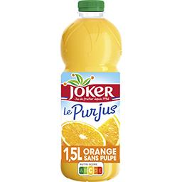 Joker Le Pur Jus - Jus d'orange sans pulpe