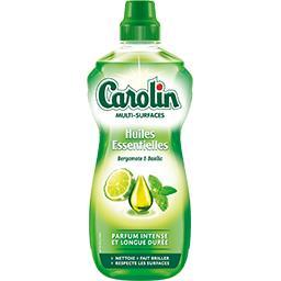 Carolin Nettoyant surfaces huiles essentielles bergamote & b...