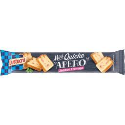 Mini quiche apéro jambon fromage