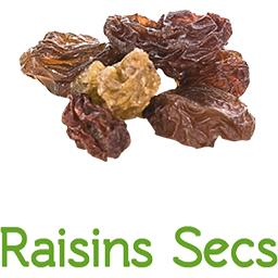 Raisins secs BIO en VRAC