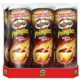 Biscuits apéritif piment et épice Pringles