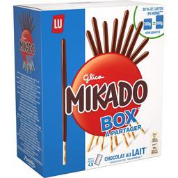 Mikado - Biscuits nappés chocolat au lait
