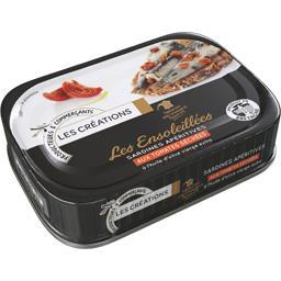 Sardines apéritives Les Ensoleillées aux tomates séc...