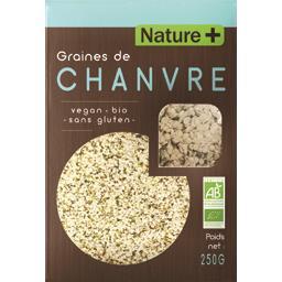 Graines de chanvre BIO sans gluten