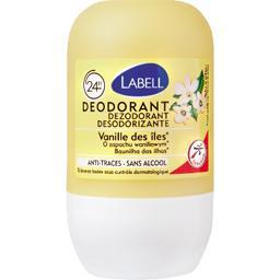 Déodorant 48h sans alcool vanille des îles
