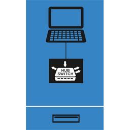 Mini-Hub 4 ports USB A 2,0