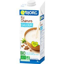 Boisson riz chanvre calcium BIO